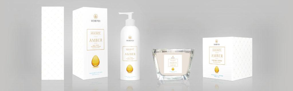Kolekcja Aqua Baltic - kosmetyki nabazie bursztynu bałtyzkiego