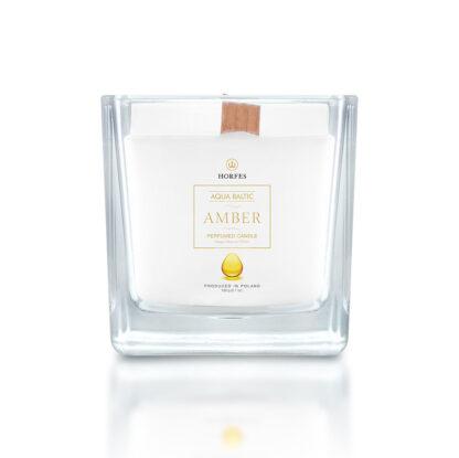 bursztynowa świeczka zapachowa Horfes